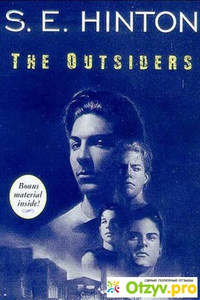 a character analysis and book review on the outsiders by se hinton