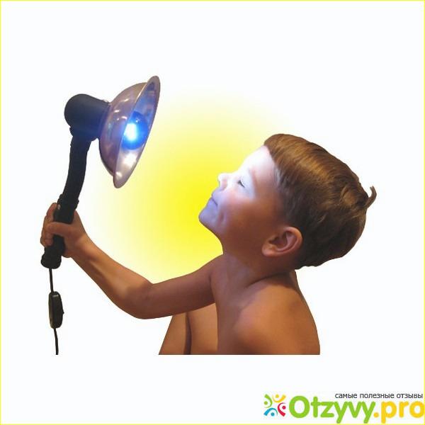 Отзыв о Рефлектор Минина (Синяя лампа)