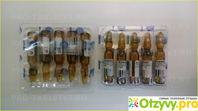 Общая информация о препарате «Фламакс»
