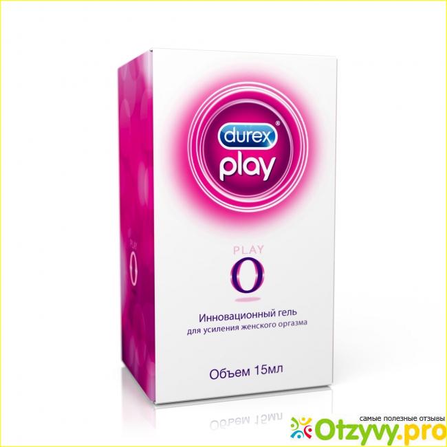 Эффективность применения геля Durex «Play O»
