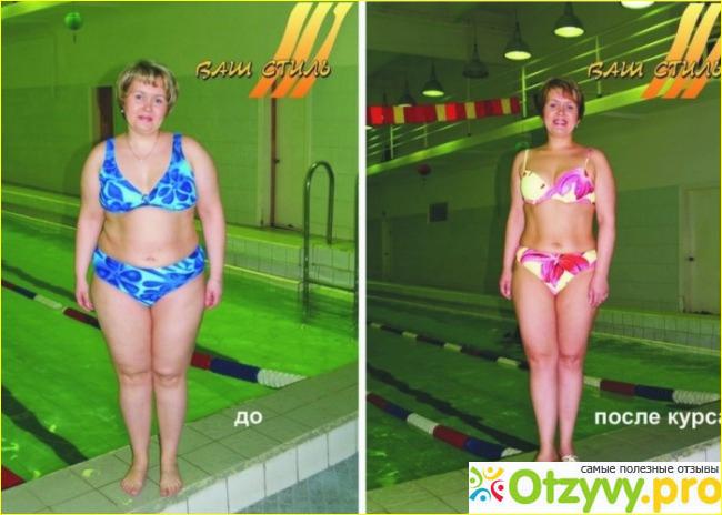 Сбросить вес плаванием