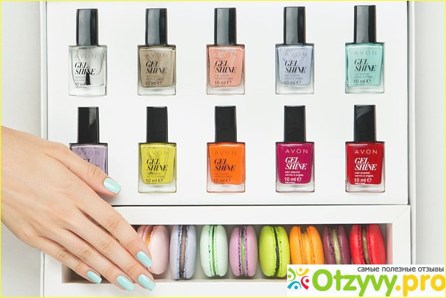 Отзыв о Avon gel shine отзывы