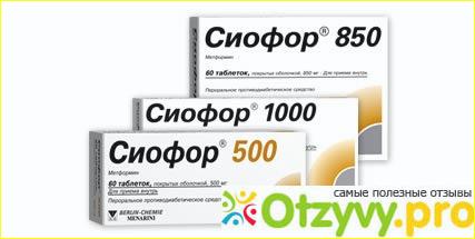 Сиофор 1000 для похудения как принимать отзывы фото1