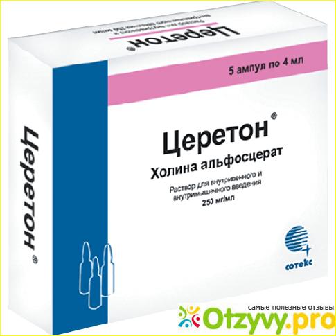 Показания и противопоказания к применению препарата Церетон.