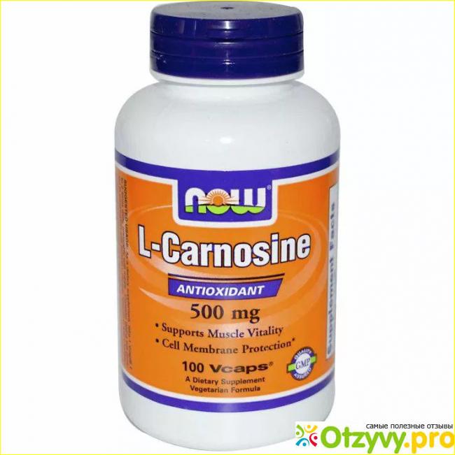 Отзывы пользователей о препарате Карнозин.
