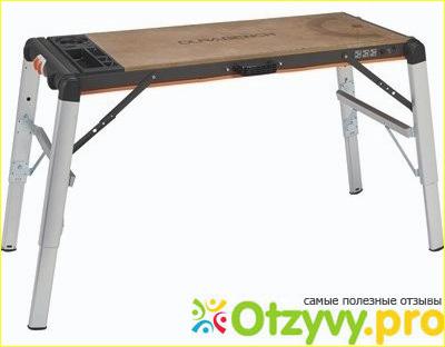 1) Black  Decker WM1000 Workmate Workbench