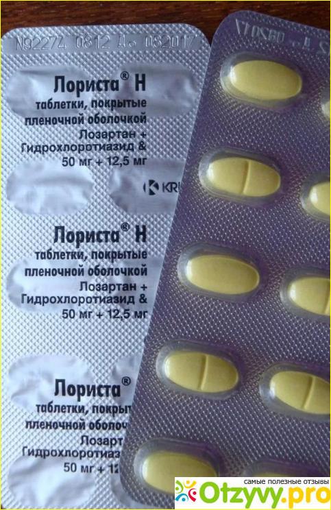 Отзывы пользователей о лекарственном препарате Лориста.