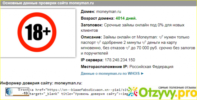 MoneyMan для инвесторов