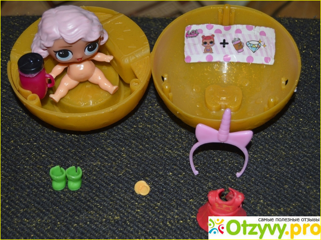 Отзыв о Игрушки MGA Entertainment Шар L.O.L. Surprise Glitter Glam