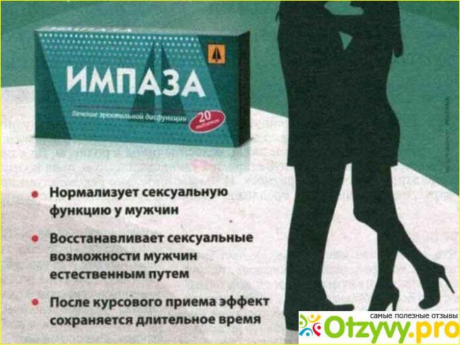Российский препарат Импаза полезен при длительном пользовании