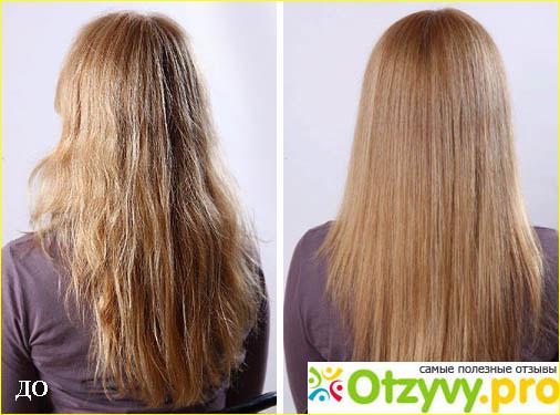 Отзыв о Молекулярное восстановление волос отзывы