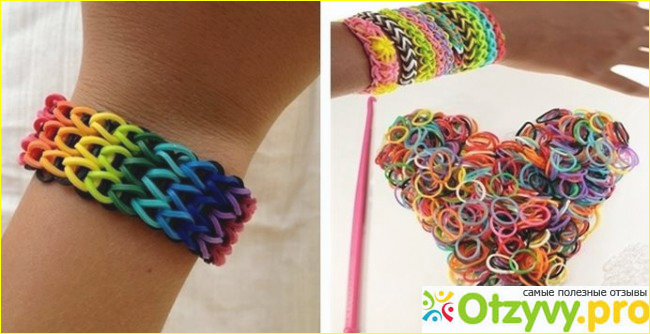 Плетение фенечков из резиночек