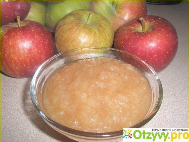 Яблочное пюре своими руками