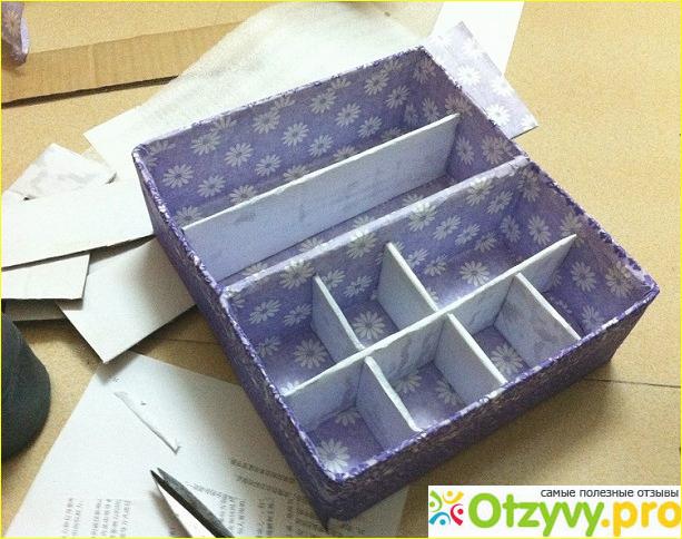 Сделать коробочку для косметики своими руками