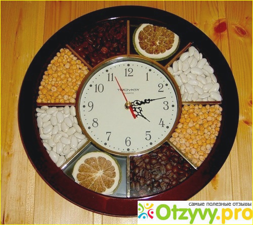 Часы на кухне своими руками