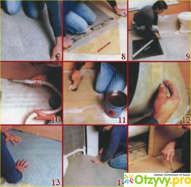Резиновые напольные покрытия своими руками