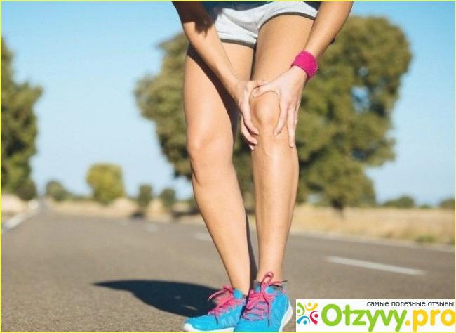 После бега сильно болят колени
