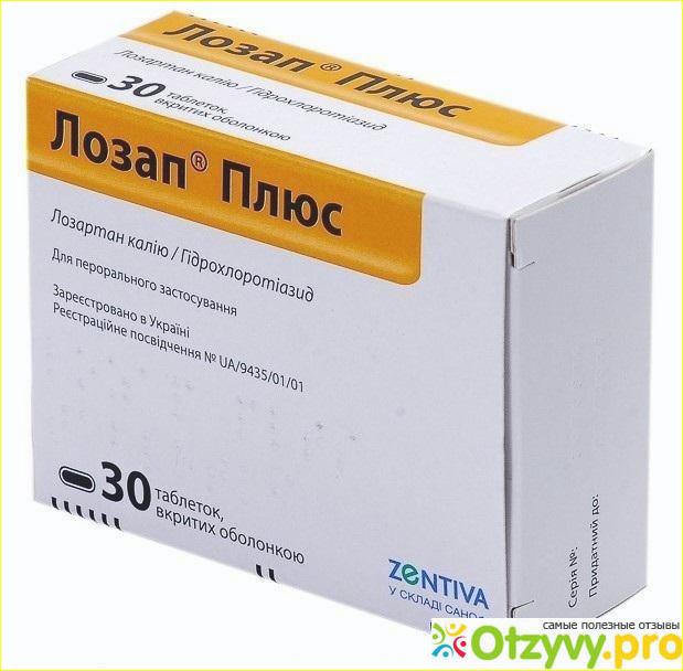 ЛОЗАП - при каком давлении принимаются таблетки?