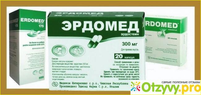 Эрдомед, капсулы 300 мг, 20 шт. Купить, цена и отзывы, эрдомед.