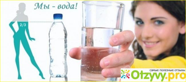 стала пить много воды и похудела
