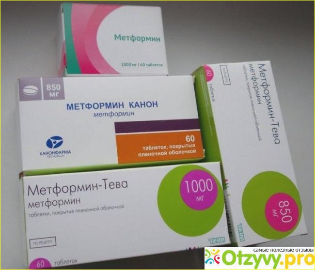 редуксин метформин для похудения