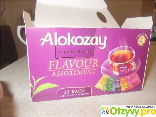 Чай Alokozay Flavour Assortment
