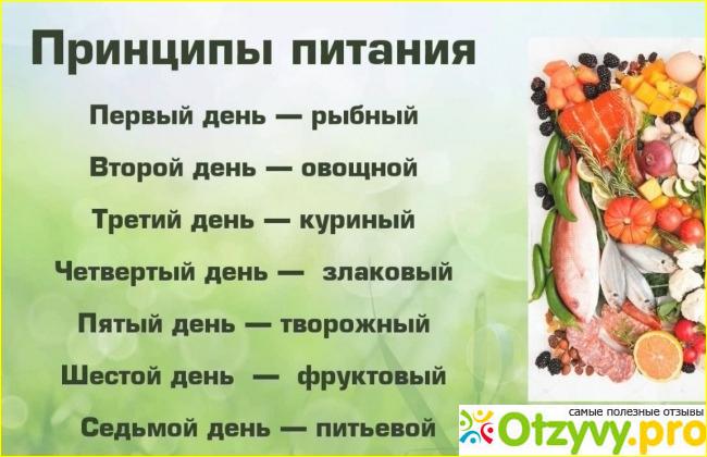 Диета Семь Лепестков Распечатать