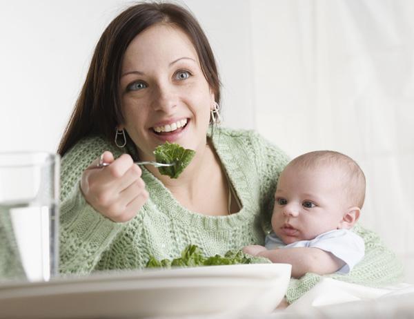 Питание мамы при грудном вскармливании - Развитие детей.