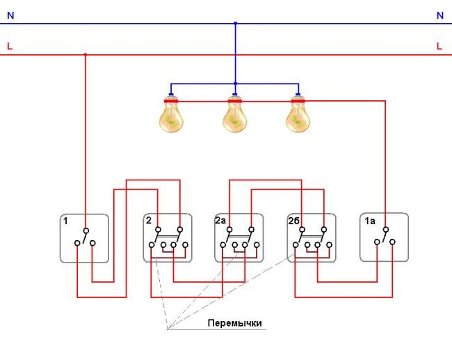 проходной схема - Схема
