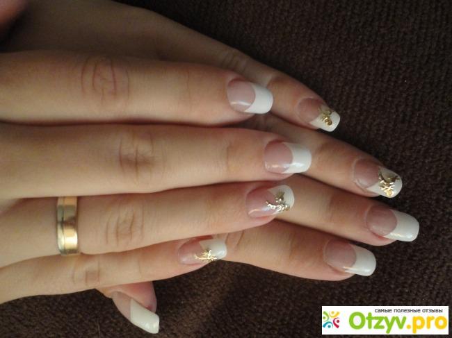 Наращивание ногтей френч отзывы